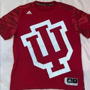 Indiana University Adidas Athletic Tee
